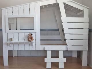 Ein Traum für Kinder - unser Hüttenbett STRANDHAUS von Dannenfelser Kindermöbel GmbH Skandinavisch