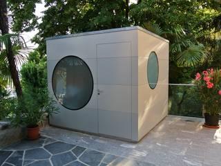 Garten Kubus am lagomatschore: modern  von  formschön clemens buck gmbh,Modern