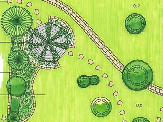 Bewegte Topografie Klassischer Garten von MEINE GARTENBERATER Klassisch
