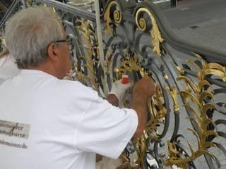 Vergoldung Rathausgeländer Bonn:   von malermeister klaudius kurtz