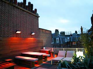 Sloane Square Modern style balcony, porch & terrace by Urban Roof Gardens Modern