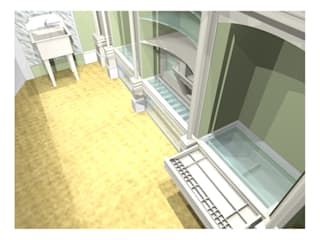 Ruang Ganti oleh 2A Design, Country
