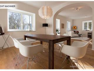 Phòng ăn phong cách kinh điển bởi Münchner HOME STAGING Agentur Kinh điển