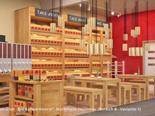 """""""60 Grad"""" + """"Bäckerei Gaues"""" - Markthalle Hannover - Innenarchitektur :  Gastronomie von GID│GOLDMANN - Innenarchitekt in Sehnde"""