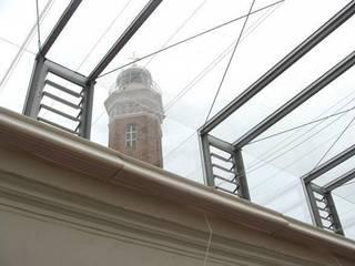 Rehabilitacion de Oficinas del Puerto de Bonanza: Edificios de oficinas de estilo  de Estudio de Arquitectura_MFP