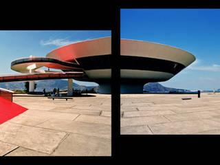 Museo de Arte Contemporaneo en Niteroi.Oscar Niemeyer Marcela Grassi Photography Museos