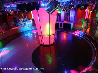 """Innenarchitektonische Neugestaltung einer Disco """"Club Calypso"""" - Wolgograd, Russland:  Hotels von GID│GOLDMANN - Innenarchitekt in Sehnde"""