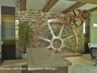 Innenarchitektonische Neugestaltung Physio+SPA in der ehem. Walkemühle - Göttingen:  Praxen von GID│GOLDMANN - Innenarchitekt in Sehnde