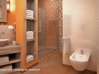 Baños de estilo  por GID│GOLDMANN-INTERIOR-DESIGN - Innenarchitekt in Sehnde