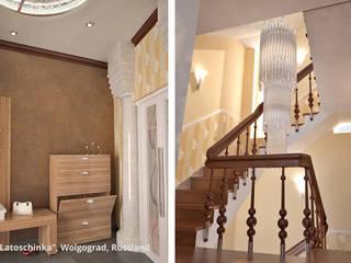 Pasillos y recibidores de estilo  por GID│GOLDMANN-INTERIOR-DESIGN - Innenarchitekt in Sehnde