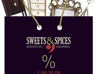 Sweets & Spices Dekoration und Möbel ห้องนั่งเล่นตู้เก็บของและชั้นเก็บของ