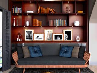 Apartment in Lebanon:  Study/office by Inside Studio Ltd
