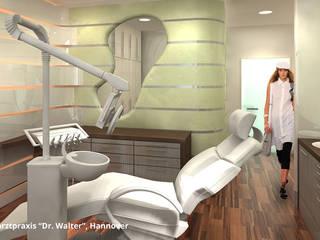 """Innenarchitektonische Neugestaltung Zahnarztpraxis """"Dr. Walter"""" - Hannover:  Praxen von GID│GOLDMANN - Innenarchitekt in Sehnde"""