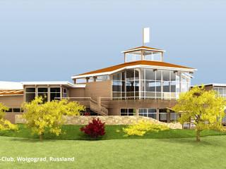 Yacht-Club, Architektur und Innenarchitektur - Wolgograd, Russland:  Hotels von GID│GOLDMANN - Innenarchitekt in Sehnde