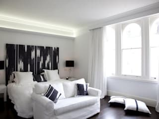 Historic House, Notting Hill, London Classic style bedroom by 4D Studio Architects and Interior Designers Classic