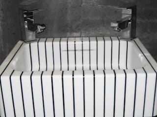 vertical pinstripe hand basin:   by srb enginering 2000 ltd
