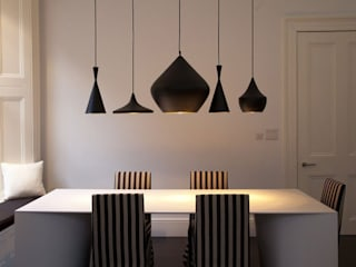 Historic House, Notting Hill, London 4D Studio Architects and Interior Designers クラシックデザインの ダイニング