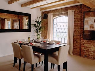 Historic Warehouse Apartment 4D Studio Architects and Interior Designers Classic style dining room