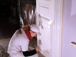 Malek-Malerei 窗戶與門門