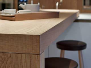 bulthaup Rough Sawn Oak bar:   by hobsons choice