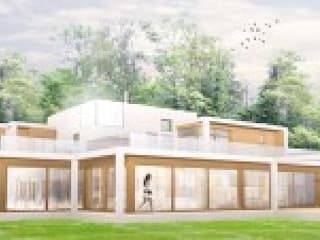 ​West House, Mole Valley, Surrey Hills 4D Studio Architects and Interior Designers 一戸建て住宅