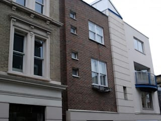 ​Knightsbridge, Cheval Place, London 4D Studio Architects and Interior Designers Modern Houses
