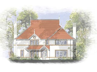 Traditional House Designs for Hampshire sites 4D Studio Architects and Interior Designers クラシカルな 家