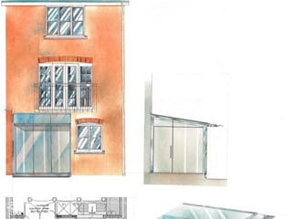 Conservatories and winter gardens 4D Studio Architects and Interior Designers オリジナルな 家