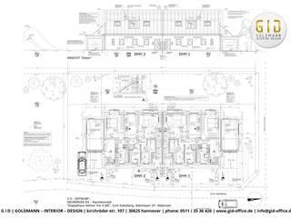 Neubau von 2 DHH - Abbensen (bei Peine):   von GID│GOLDMANN - Innenarchitekt in Sehnde