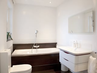 Historic House, Notting Hill, London Classic style bathroom by 4D Studio Architects and Interior Designers Classic