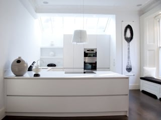 مطبخ تنفيذ 4D Studio Architects and Interior Designers