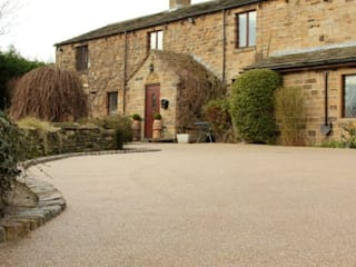 Resin Driveway The Pebble Mill สวน