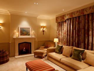 North Yorkshire Period Country House Eclectic style living room by Brilliant Lighting Eclectic