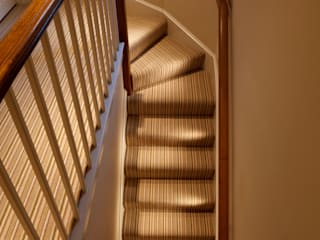 North Yorkshire Period Country House Eclectic style corridor, hallway & stairs by Brilliant Lighting Eclectic