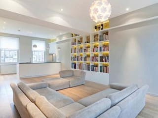 Kilkie Street Modern living room by Amorphous Design Ltd Modern
