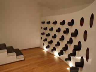 Ryoga Sedi per eventi moderne di laboratorio di architettura - gianfranco mangiarotti Moderno