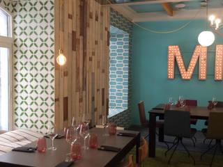Salas de jantar ecléticas por Anticuable.com Eclético