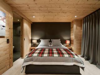 Chalet Gstaad Dormitorios de estilo rústico de Ardesia Design Rústico
