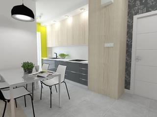 Cuisine moderne par WNĘTRZNOŚCI Projektowanie wnętrz i mebli Moderne