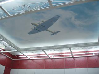 Роспись стен: Ванные комнаты в . Автор – Lincrusta decor, Модерн