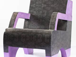 Création de meubles en carton sur mesure par Kitty Carton, cartonniste professionnelle par L'Ecole du Carton Éclectique
