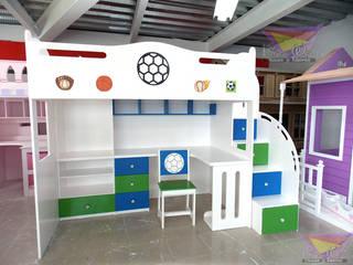 極簡主義  by Kids Wolrd- Recamaras Literas y Muebles para niños, 簡約風