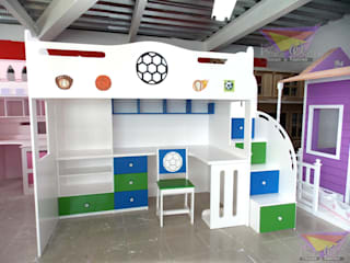 minimalist  by Kids Wolrd- Recamaras Literas y Muebles para niños, Minimalist