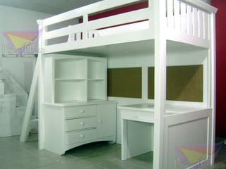 Oleh Kids Wolrd- Recamaras Literas y Muebles para niños Minimalis