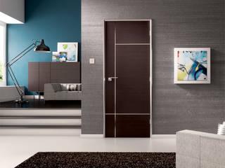 Caserta Wenge Internal Door: moderne Fenster & Tür von homify