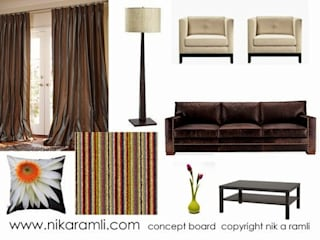 Mood Boards Nik A Ramli Interior Design Modern living room