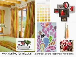 Mood Boards Nik A Ramli Interior Design Modern style bedroom