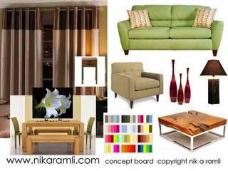 Mood Boards Nik A Ramli Interior Design Modern dining room
