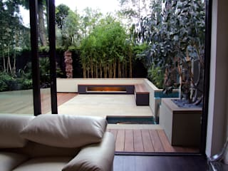 Indoor-outdoor fluidity 根據 MyLandscapes Garden Design 現代風
