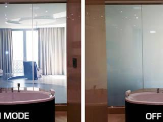 Ванная комната в эклектичном стиле от Vidrios de privacidad Эклектичный